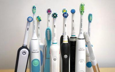 Электрические зубные щетки.